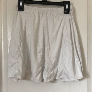 Brandy Melville faux suede skirt